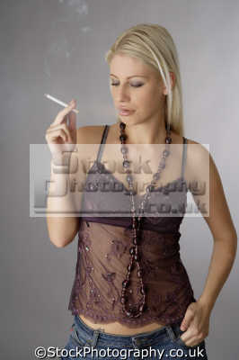 pictures of people smoking