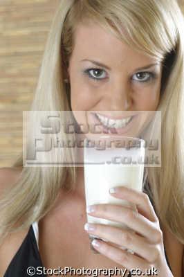 blonde model drinking glass milk black bikini people eating nutrition human activities persons