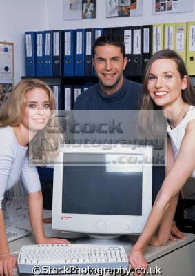 women man office people business