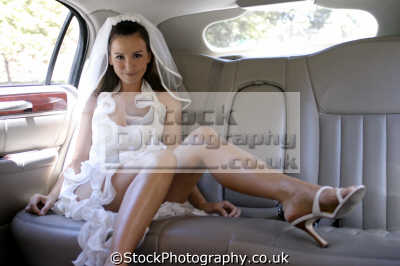 sexy bride car married couples marriage monogamous monogamy husband wife boyfriend girlfriend spouse families family kin kinfolk tribe generations geneaology people persons virginal white