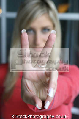 sign victory hand gestures non-verbal non verbal nonverbal communication body language people persons