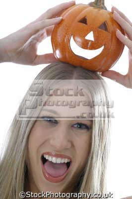halloween pumpkin eating nutrition human activities people persons