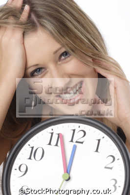 teenager pleased time body language people persons happy scheduled