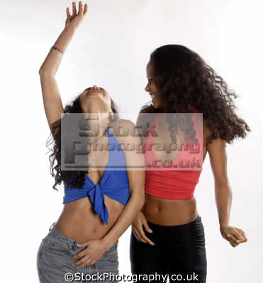 young people having fun dancing human activities persons youth beautiful trendy