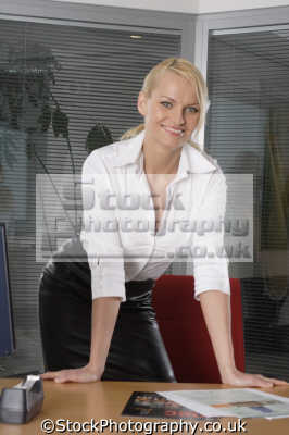 confident business woman people office ceo manager austria austrian