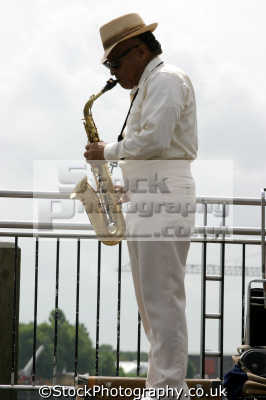saxophonist busking music musicians musical arts misc. busker