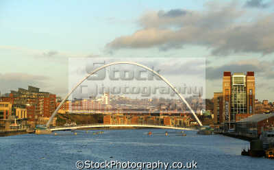 millennium bridge newcastle sunset. uk bridges rivers waterways countryside rural environmental tyne baltic arts centre flour newcastle-upon-tyne newcastle upon tyne newcastleupontyne geordies geordy northumberland northumbrian england english great britain united kingdom british