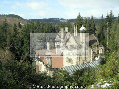cragside rothbury craigside victorian philanthopist historical uk buildings history british architecture architectural armaments automation innovation hydraulic swing bridge national trust northumberland northumbrian england english great britain united kingdom