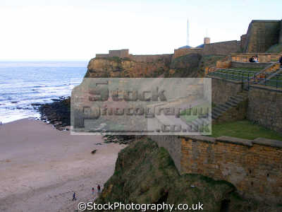 beach tynemouth near newcastle-upon-tyne. newcastle upon tyne newcastleupontyne north east england northeast english uk castle priory river barbican benedictine oswin newcastle-upon-tyne newcastle upon tyne newcastleupontyne geordies geordy northumberland northumbrian great britain united kingdom british