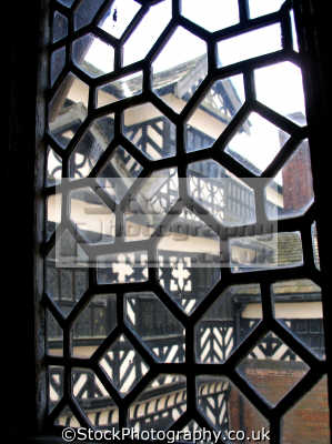 window little moreton hall cheshire historical uk buildings history british architecture architectural tudor half-timbered half timbered halftimbered timbre-framed timbre framed timbreframed elizabethan moll flanders england english great britain united kingdom