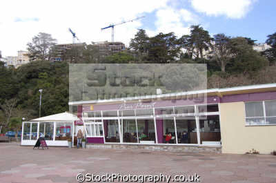 pier point cafe torquay uk commercial buildings retailers british architecture architectural devon devonian england english great britain united kingdom