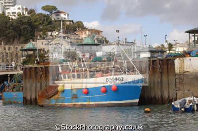 fishing boat torquay boats marine misc. devon devonian england english great britain united kingdom british