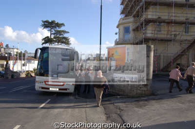 coach trip torquay buses transport transportation uk devon devonian england english great britain united kingdom british