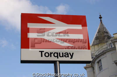 torquay station grand hotel background uk railway stations railways railroads transport transportation devon devonian england english great britain united kingdom british