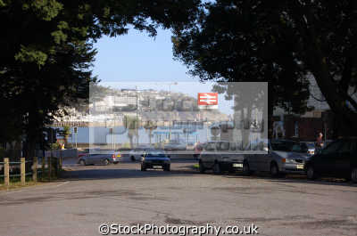 torquay station harbour background uk railway stations railways railroads transport transportation devon devonian england english great britain united kingdom british