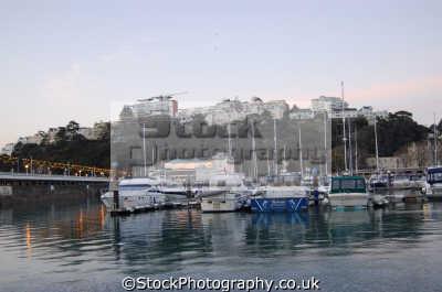 marina torquay uk coastline coastal environmental devon devonian england english great britain united kingdom british