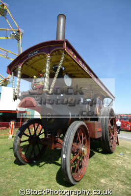 fairground steam engine engines transport transportation uk cornwall cornish england english great britain united kingdom british
