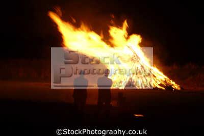 bonfire misc. pyrotechnic falmouth cornwall cornish england english great britain united kingdom british