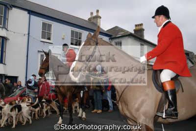 huntsmen hounds helston prior christmas hunt fox hunting blood banned sports sporting uk cornwall cornish england english great britain united kingdom british