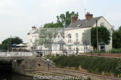 steamboat inn lock house tea rooms trent derbyshire. country pubs public houses countryside rural environmental uk canal river junction soar radcliffe sawley derbyshire england english great britain united kingdom british