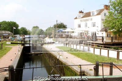 steamboat inn erewash canal. trent lock derbyshire. uk rivers waterways countryside rural environmental public house gates boat navigation derbyshire england english great britain united kingdom british