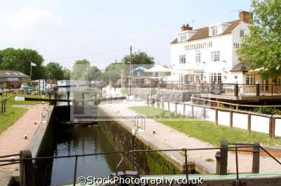 steamboat inn erewash canal. trent lock derbyshire. uk rivers waterways countryside rural environmental public house gates boat navigation derbyshire england english great britain united kingdom british
