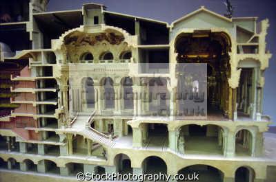 model paris opera house. french buildings european travel garnier mus orsay france parisienne la francia frankreich europe