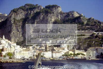 town amalfi sea southern italy italian european travel campania costiera amafitana neopolitan riviera coast italien italia italie europe