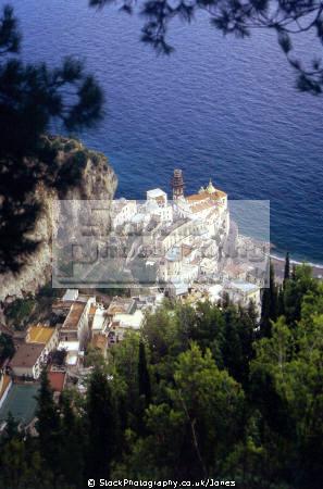 atrani torre dello ziro. southern italy italian european travel costiera amalfitana campania neopolitan napoli naples amalfi coast italien italia italie europe