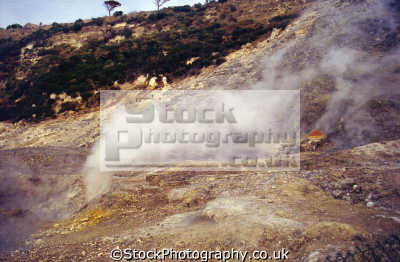 steam vent solfatara di pozzuoli phlegrean fields near naples italy volcanic volcanoes geology geological science misc. campi flegrei campania volcano fumerole hydrothermal crater napoli napolitan italien italia italie europe european italian