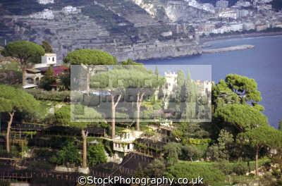 villa cimbrone gardens ravello taken torre dello ziro. southern italy italian european travel costiera amalfitana campania neopolitan napoli naples amalfi coast italien italia italie europe