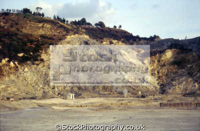 solfatara di pozzuoli phlegrean fields near naples italy southern italian european travel campi flegrei campania volcano fumerole hydrothermal crater amalfi coast italien italia italie europe