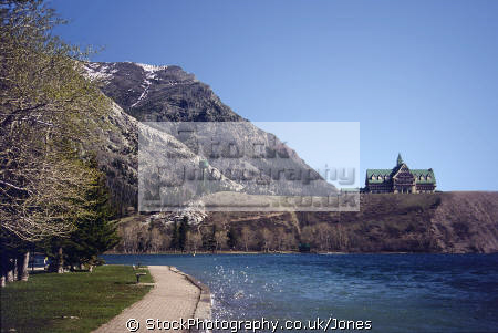 waterton lake prince wales hotel park alberta wilderness natural history nature misc. glacier national canada canadian