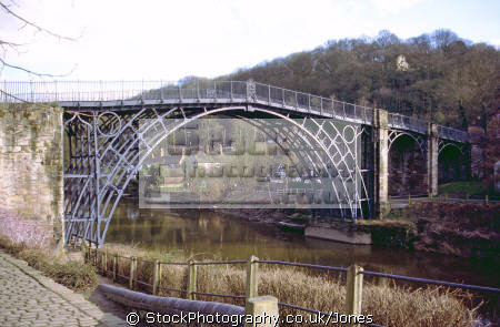 ironbridge shropshire midlands towns england english uk industrial revolution foundry casting coalbrookdale great britain united kingdom british