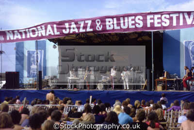 national jazz blues festival plumpton racecourse 1970. onstage band van der graaf generator. rock bands roll pop stars celebrities celebrity fame famous star people persons popular music live openair concert sussex home counties england english great britain united kingdom british