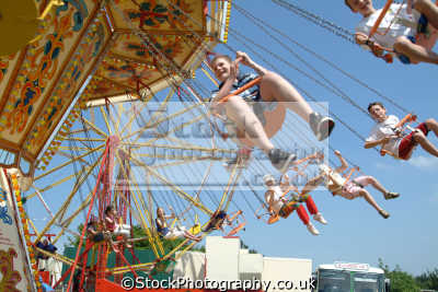 fairground ride carnival fairs leisure uk spinning cornwall cornish england english great britain united kingdom british