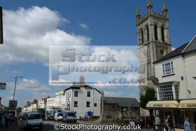 honiton devon high street south west england southwest country english uk devonian great britain united kingdom british