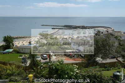 lyme regis dorset. harbour bay harbor uk coastline coastal environmental dorset england english great britain united kingdom british