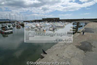 lyme regis dorset harbour harbor uk coastline coastal environmental england english great britain united kingdom british