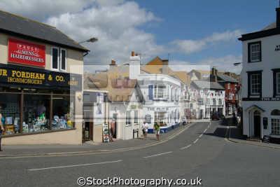 lyme regis dorset church street south west towns england southwest country english uk great britain united kingdom british