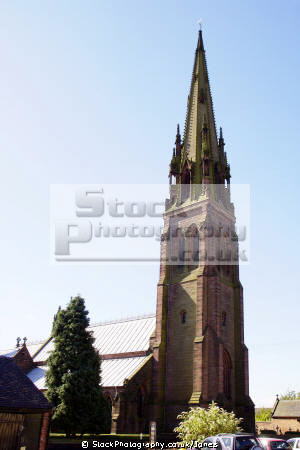 pugin famous st giles rc church cheadle staffordshire. uk churches worship religion christian british architecture architectural buildings augustus welby northmore roman catholic staffs moorlands potteries alton towers staffordshire england english great britain united kingdom