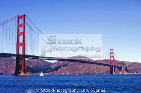 golden gate bridge san francisco california. california american yankee travel helicopter gunship military sf bay alcatraz marin headlands peninsula franciscan californian usa united states america
