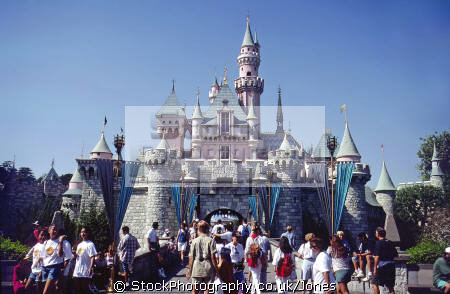 sleeping beauty castle disneyland. los angeles la california american yankee travel fantasy dream anaheim hollywood walt mickey mouse californian usa united states america