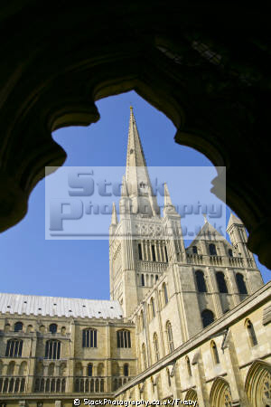 norwich cathedral cloisters uk