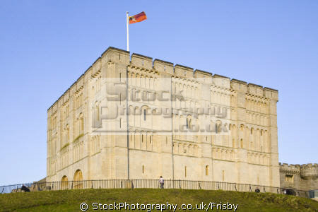 norwich norman castle norfolk uk british castles architecture architectural buildings medieval england english great britain united kingdom