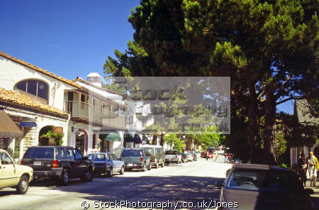 carmel california. california american yankee travel shopping art galleries monterey clint eastwood californian usa united states america