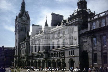 aberdeen townhouse union street. uk town halls government buildings british architecture architectural hall scotland civic council granite aberdeenshire scottish scotch scots escocia schottland great britain united kingdom