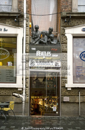 beatles shop near cavern club liverpool merseyside retailers brands branding uk business commerce music pop fab merchandise scouse england english great britain united kingdom british