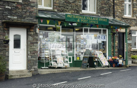post office local shop patterdale lake district british lakes countryside rural environmental uk retailer small village centre cumbria cumbrian england english great britain united kingdom
