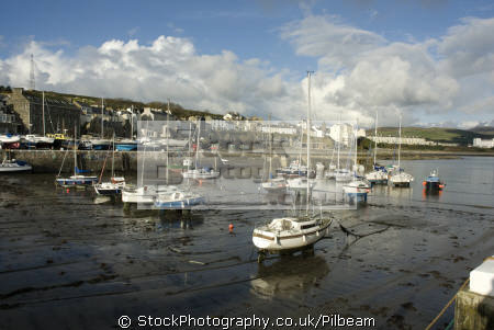 port st mary harbour south coast isle man yachts yachting sailing sailboats boats marine misc. fishing sea manx iom tourist england english great britain united kingdom british